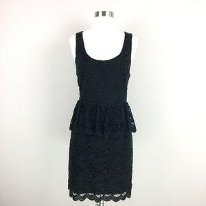 NWT UO Pins and Needles Peplum Lace Dress  Size M